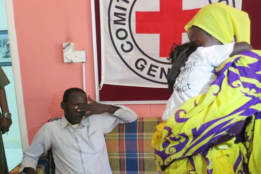 Sudán del Sur/Sudán: Leila, de cinco años, vuelve a casa