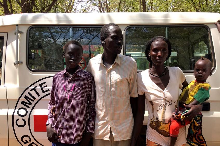 Etiopía-Sudán del Sur: un niño secuestrado durante un enfrentamiento tribal regresa con su familia