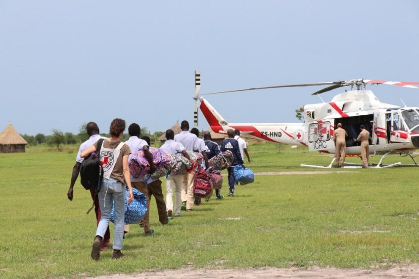 南苏丹:红十字国际委员会协助释放15名被拘留者