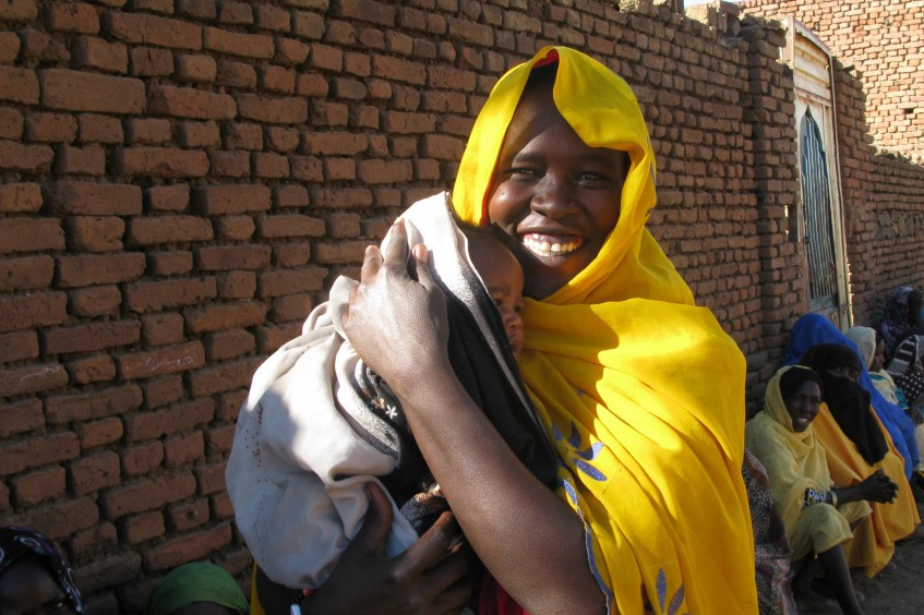 Soudan : nouvelle distribution de secours et… de joie