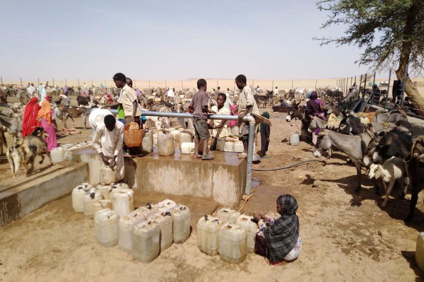 苏丹:为达尔富尔困难社区供水