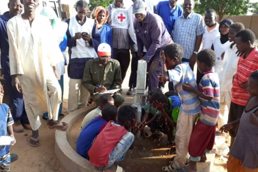 Sudan: Clean water flows once again from Mellit's hand pumps