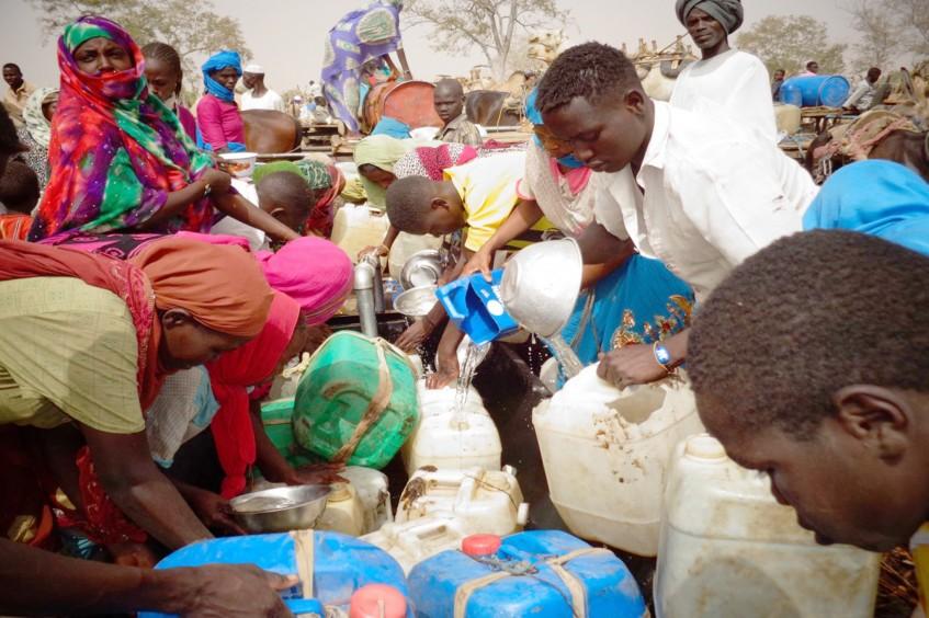 Sudán: más de 500.000 beneficiarios de asistencia humanitaria en 2015