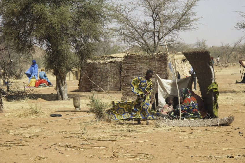 Hilfe für bedürftige Vertriebene in Burkina Faso