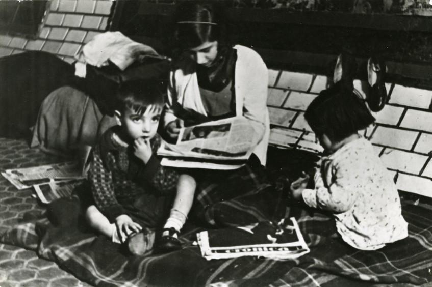 Evacuación de niños durante la guerra civil española