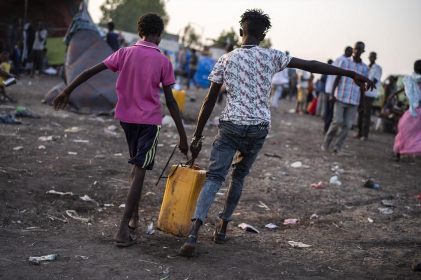 السودان: اللاجئون الإثيوبيون يواجهون ظروفاً لا تنفك تتفاقم مع هروب مزيد من الناس من منازلهم
