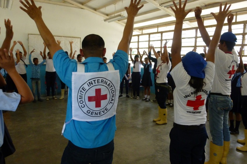 Neutral and impartial Red Cross work in Venezuela