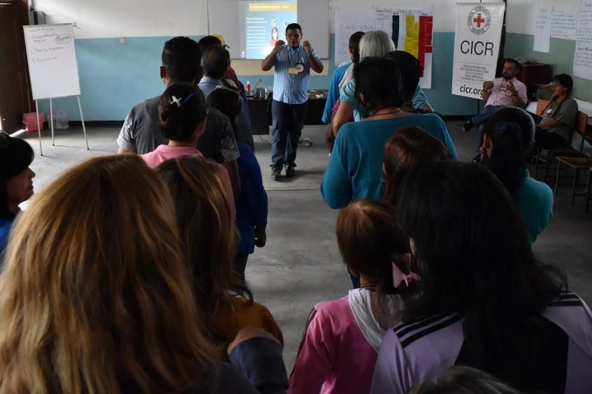 红十字国际委员会与委内瑞拉红十字会在委内瑞拉开展的行动