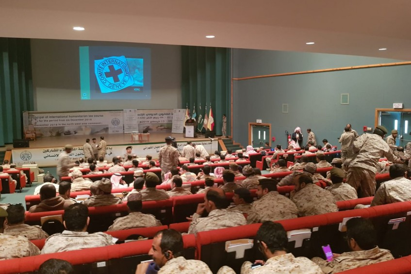 Saudi Arabia: High level workshop for military personnel in Tabuk