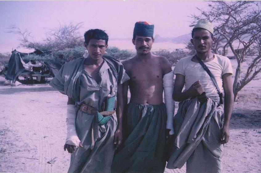 ذكرى مرور خمسين عاما على جراحة الحرب في اليمن