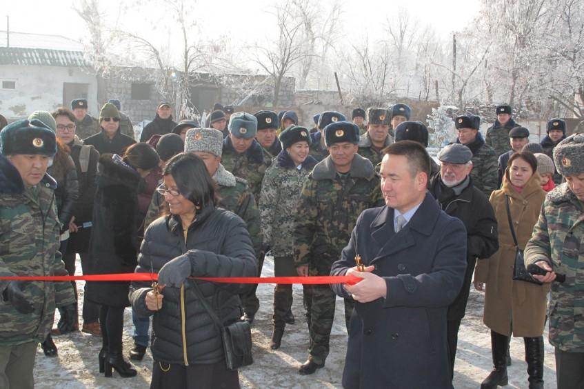 Kirghizistan : inauguration d'une nouvelle section à régime de détention allégé pour les personnes purgeant une peine à perpétuité dans l'établissement n° 19