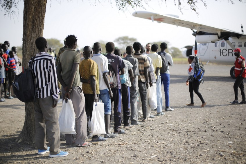 South Sudan: ICRC facilitates release of 24 detainees