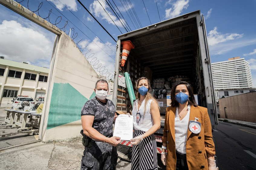 COVID-19: ICRC's donations help penitentiary system of the state of Ceará produce 44,000 masks