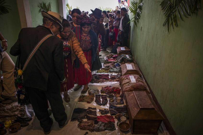 Guatemala : quand les objets des personnes disparues apportent des réponses à leurs familles
