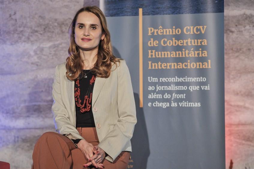 """""""Que força é essa que motiva essas mulheres?"""", indaga vencedora do Prêmio CICV de Cobertura Humanitária"""