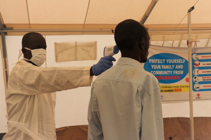South Sudan: Helping prison authorities prevent spread of COVID-19 in places of detention