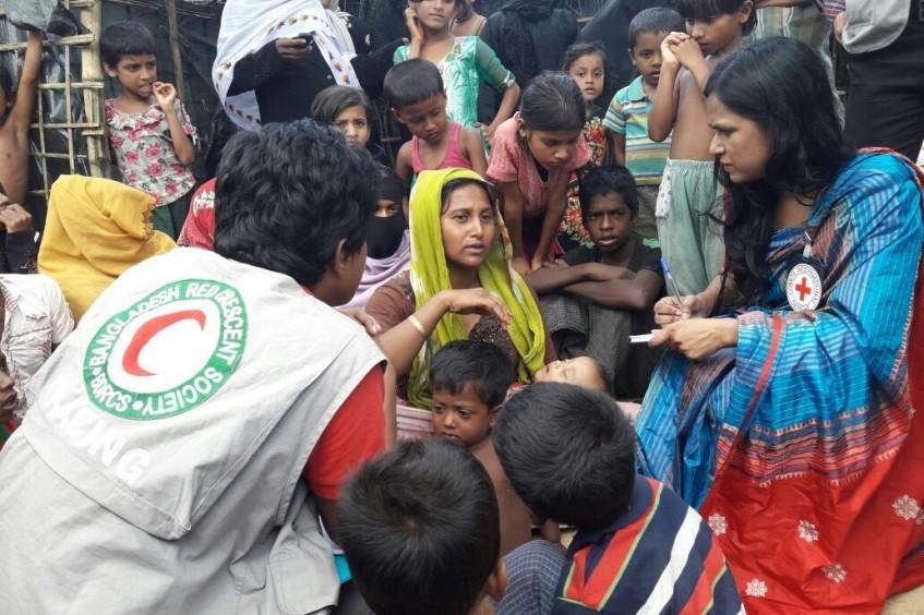 CICV faz apelo de fundos para operação crucial em Myanmar e Bangladesh