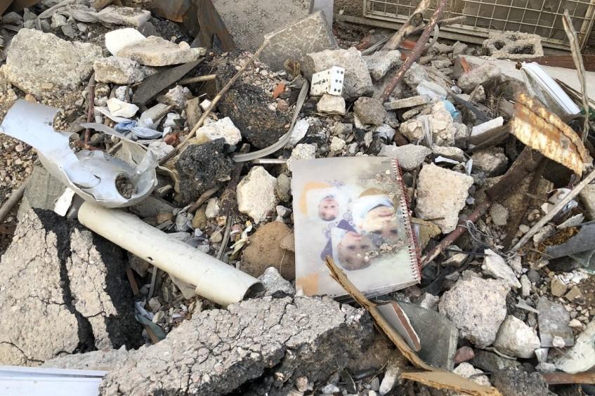 From fields of green to fields of rubble in Ghouta