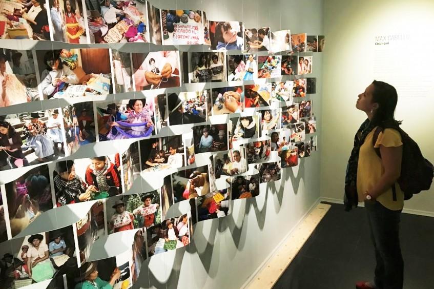 """Exposición itinerante """"Desaparecidos. Entre la búsqueda y la esperanza"""" se estrena en Museo de la Memoria y DDHH de Chile"""