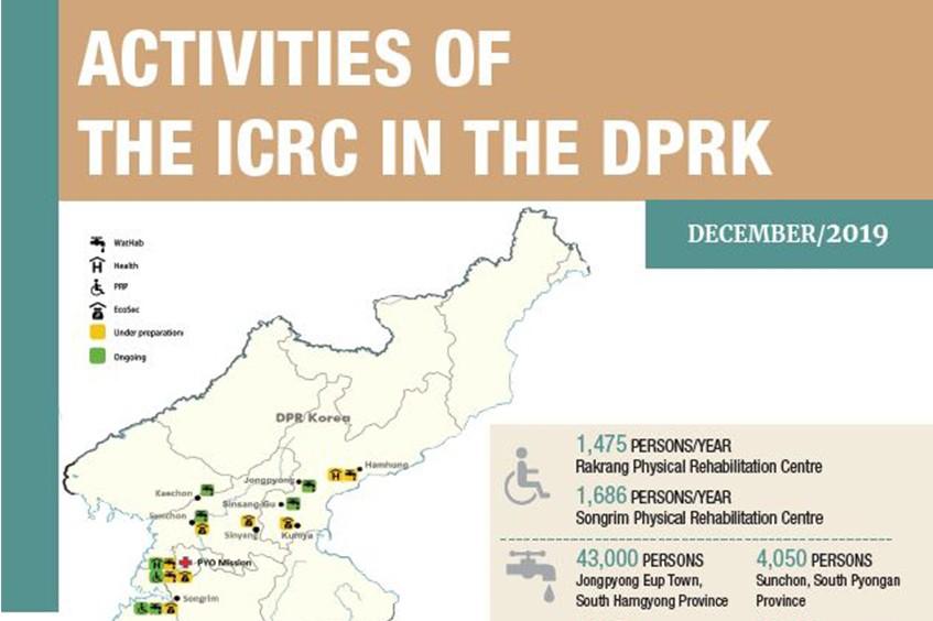 Democratic People's Republic of Korea: ICRC activities in December 2019