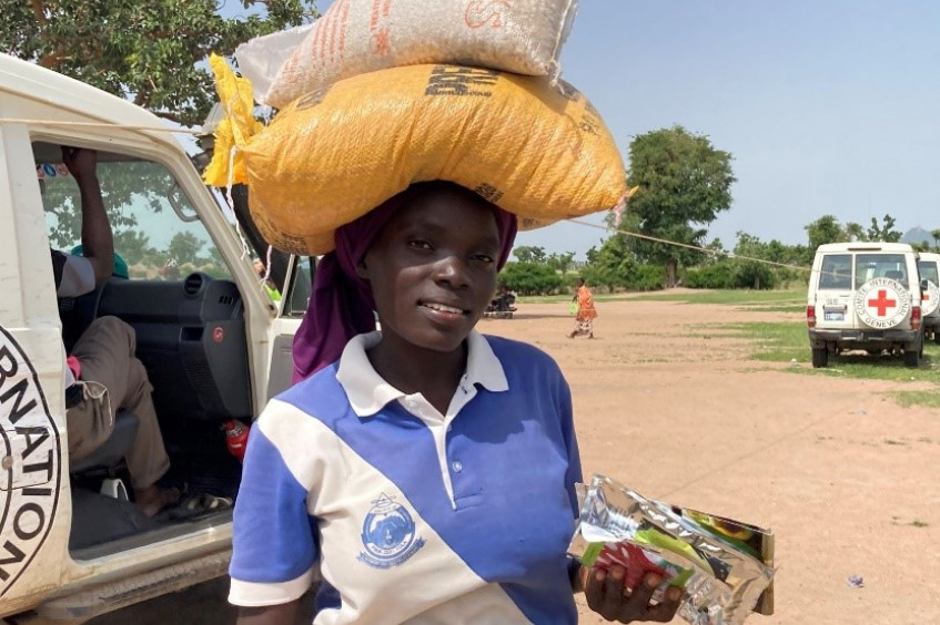 In Nigeria, over 50,000 households receive agricultural support