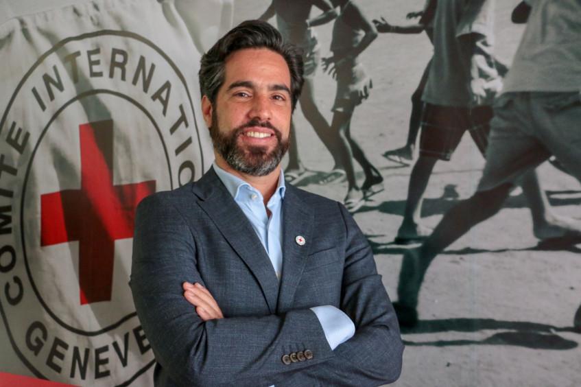 Alexandre Formisano, jefe de la delegación regional del CICR
