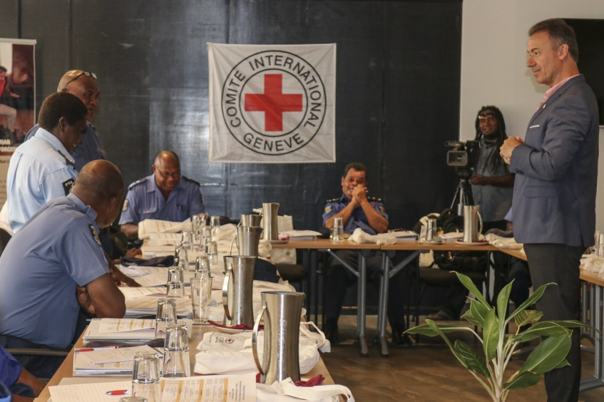 "Port Moresby: ""Training of trainers"" workshop for police on human rights law"