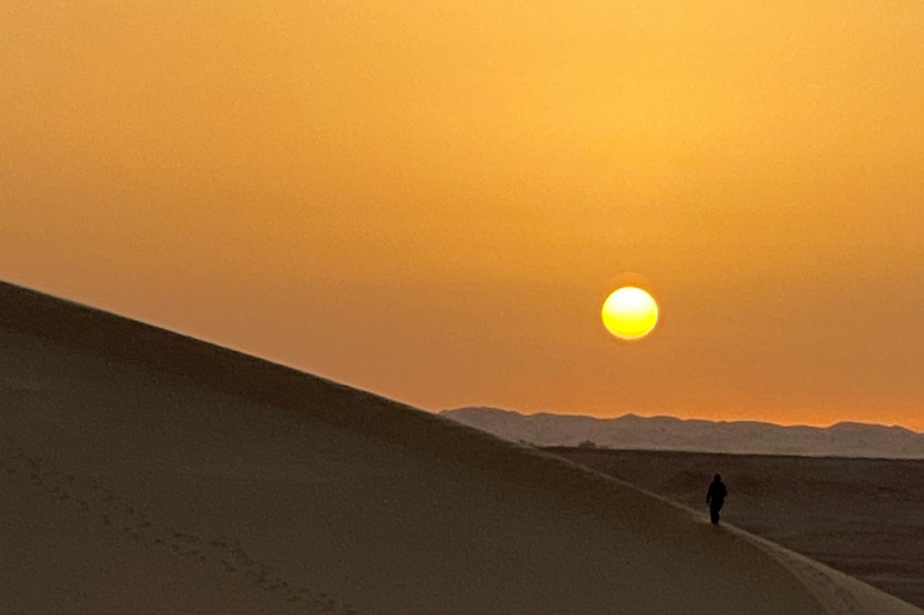 """Libya: a journey into Ghadames """"the pearl of desert"""" to deliver aid"""