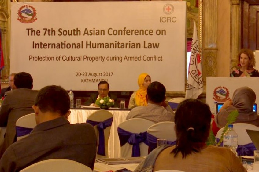 Nepal: Experts in South Asia discuss protection of cultural property during armed conflict at regional IHL meet