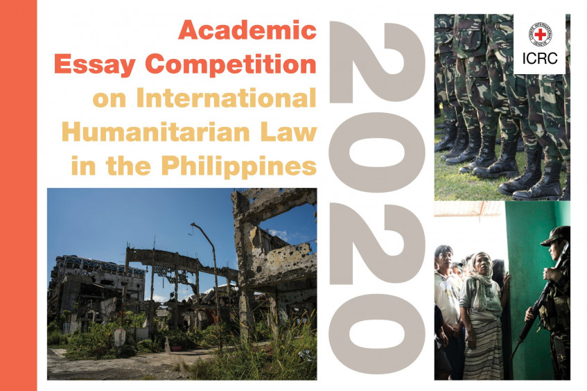 Philippines: Academic essay competition on international humanitarian law
