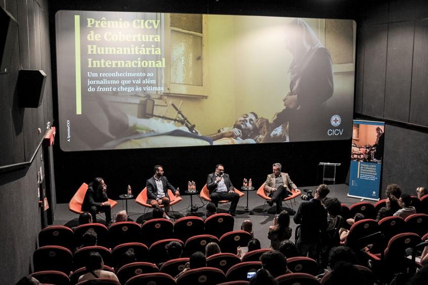 Brasil: GloboNews vence Prêmio CICV de Cobertura Humanitária Internacional