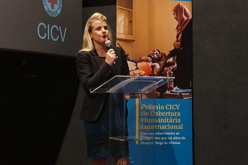 Prêmio CICV de Cobertura Humanitária Internacional 2019: discurso da chefe da Delegação Regional