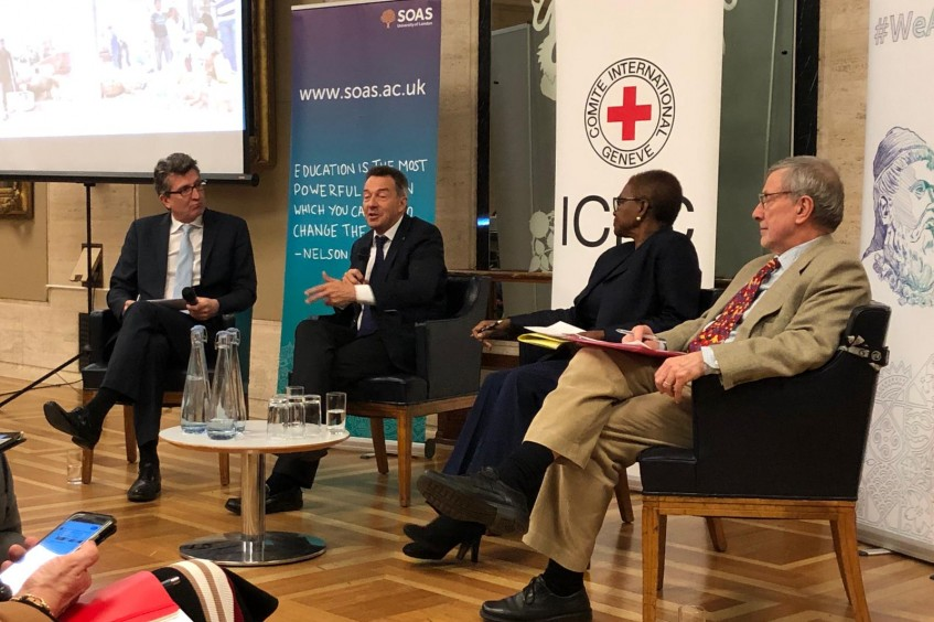 "ICRC president: We must re-establish a ""chain of responsibility"" in conflict"