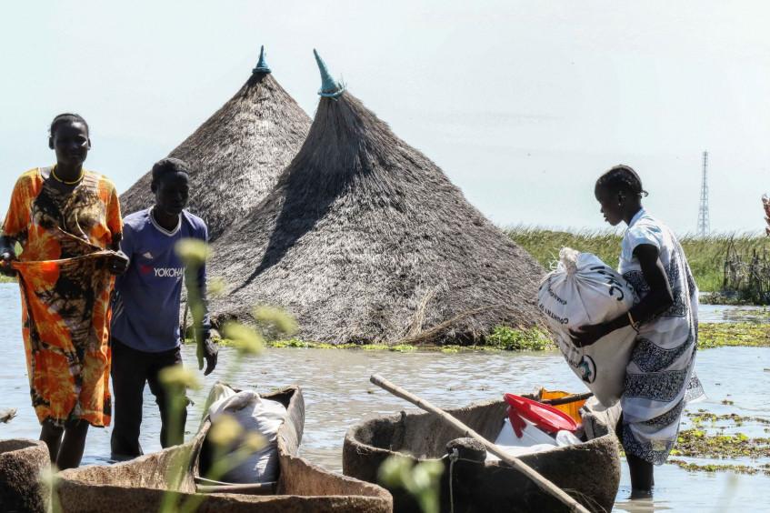 جنوب السودان: الفيضانات تفاقم المعاناة الناجمة عن الجوع وانعدام الأمن