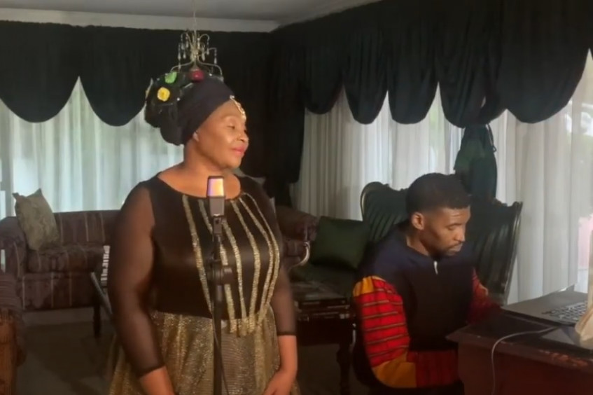 Yvonne Chaka Chaka and the fight against COVID-19