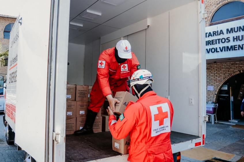 Brasil: Cruz Vermelha doa 840 EPIs para a proteção da guarda municipal de Fortaleza