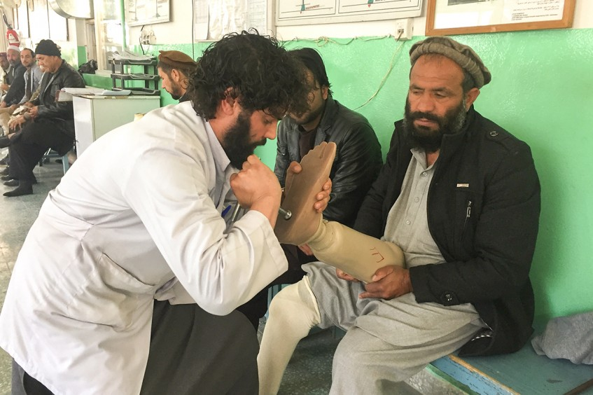 Afghanistan: Landmine victim turns physiotherapist, pieces hope together