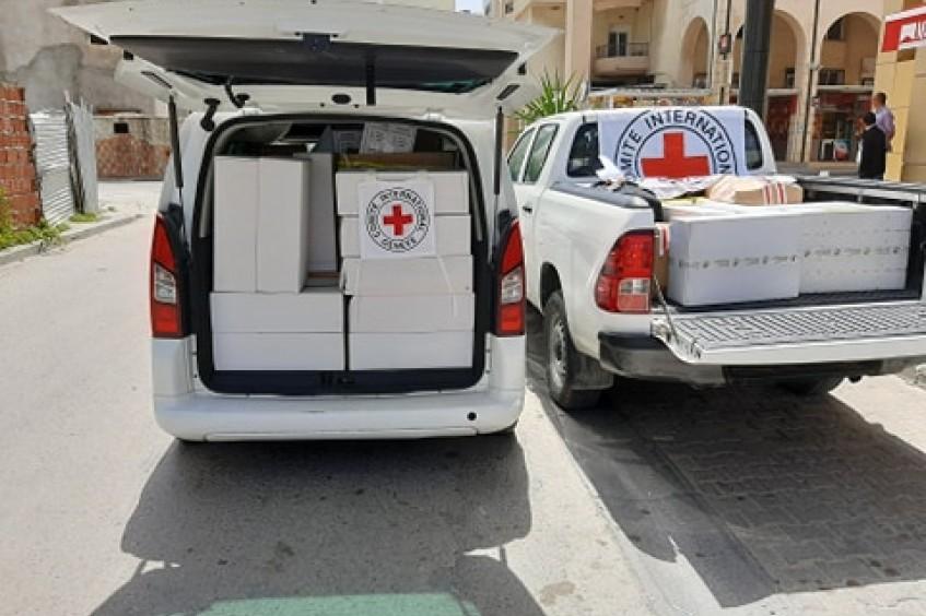 COVID-19 : la réponse du CICR en Tunisie