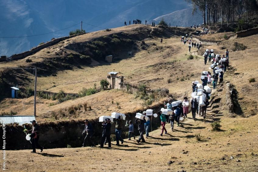 Los desaparecidos de Perú que descansan en las alturas