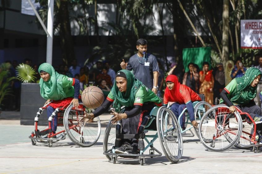 Bangladesh: First-ever wheelchair basketball tournament fosters social inclusion