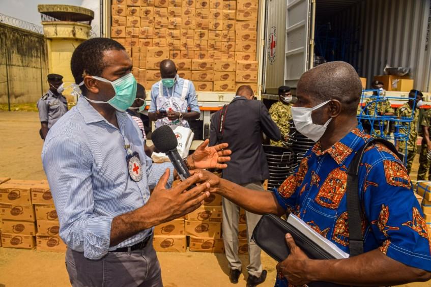 Délégation régionale à Abidjan : risposte Covid-19 en Côte d'Ivoire, en Guinée et au Togo