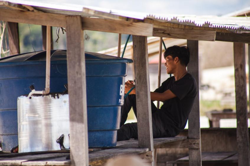 Água e saneamento para migrantes e populações receptoras em Roraima