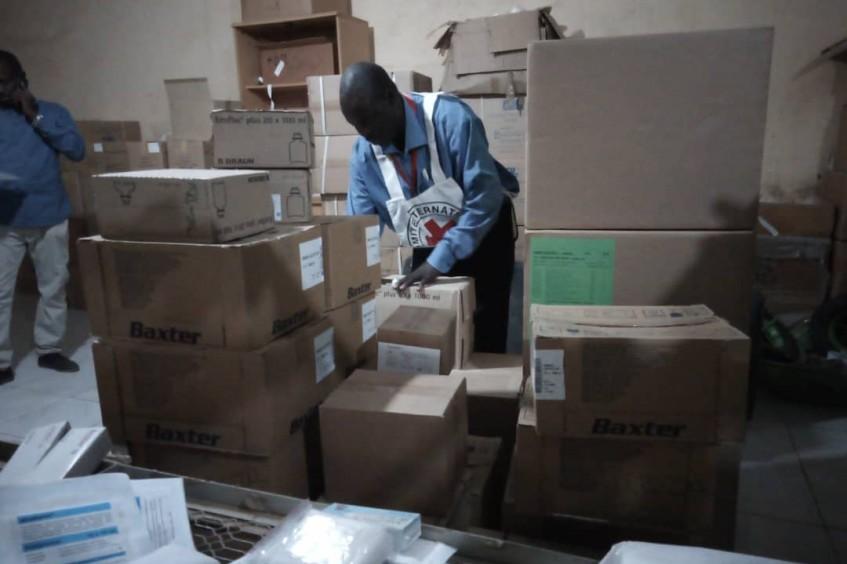 达尔富尔:红十字国际委员会为受西达尔富尔州暴力局势影响的7800名伤者及流离失所者提供援助