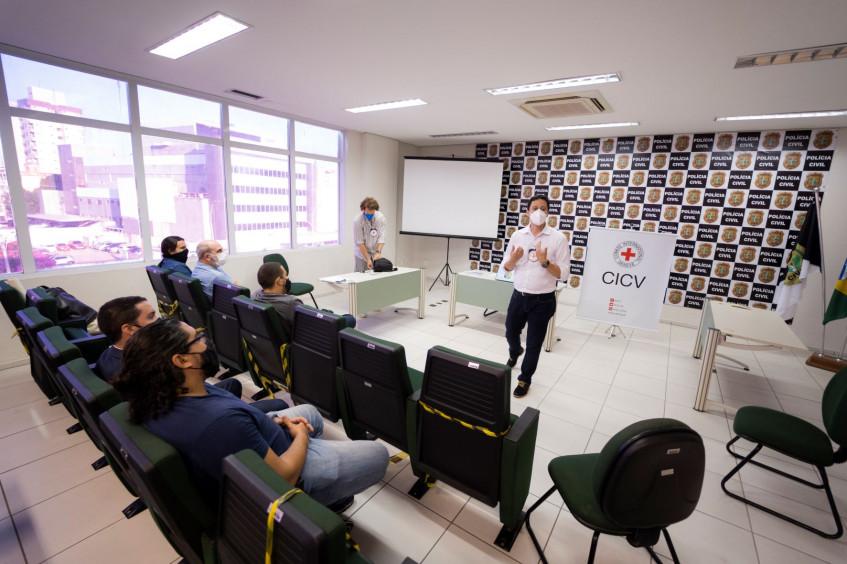 Desaparecimento de pessoas: CICV lança ciclo de oficinas em parceria com delegacia no Ceará