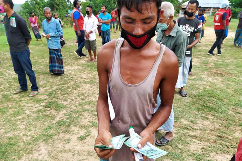 Bangladesh: Cash grants help 6,000 families in Chattogram Hill Tracts