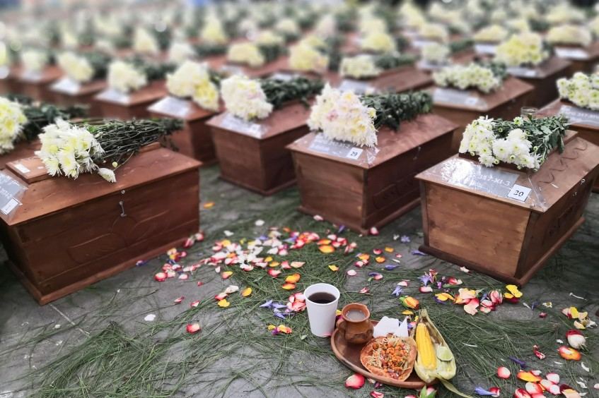 Guatemala: A year ago 172 victims of the armed conflict received dignified burial in Comalapa