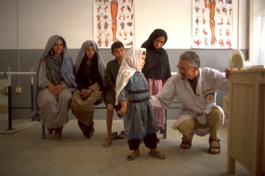 Физическая реабилитация в Афганистане: почти 178 000 пациентов за 30 лет