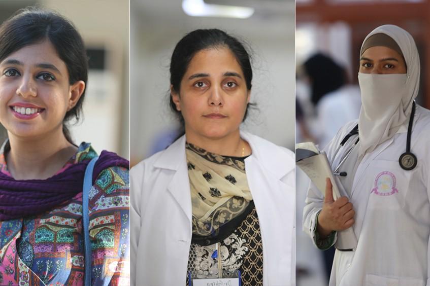Pakistan : six femmes médecins racontent leur vécu et leurs espoirs pour les générations futures