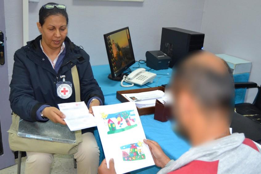 Tunisie : l'action du CICR en faveur des personnes privées de liberté