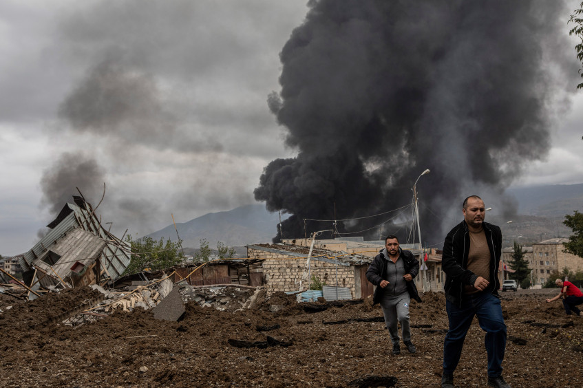 Konflikt in Berg-Karabach: Zivilbevölkerung zahlt hohen Preis